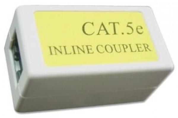 NCA-LC5E-001 Gembird Cat.5E LAN coupler white Spojnica za kabl RJ-45
