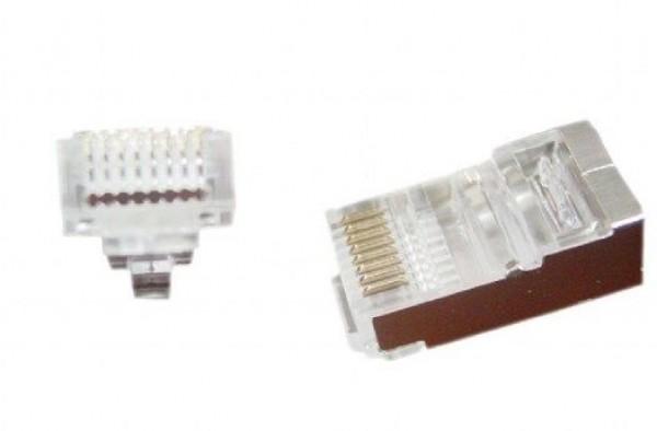 LC-PTF-01/10 Gembird Universal pass-through FTP plug 8P8C CAT5 (10kom u pakovanju) cena pakovanja