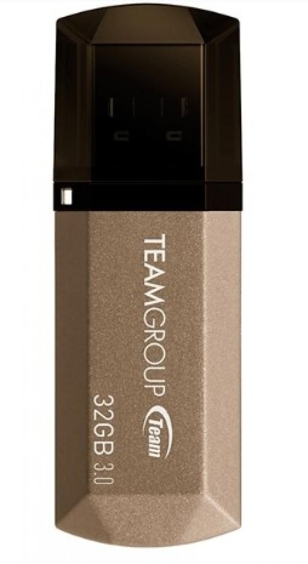 TeamGroup * 32GB C155 USB 3.0 GOLD TC155332GD01 (484)