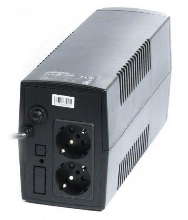 EG-UPS-B650 Gembird 650VA 390W AVR  UPS, 2 x Shuko output sockets, black