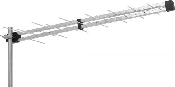 GMB-28EK **Gembird Antena Loga UHF sa F konektorom 28 elemenata, duina 98cm, dobit 8dB aluminium483