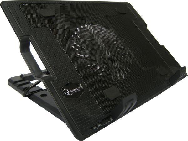 N2000IV** Gembird hladnjak za laptop, 15-17'' 180mm Fan-CONTROL, 2xUSB, 365x265mm, Ergo Stand(583)