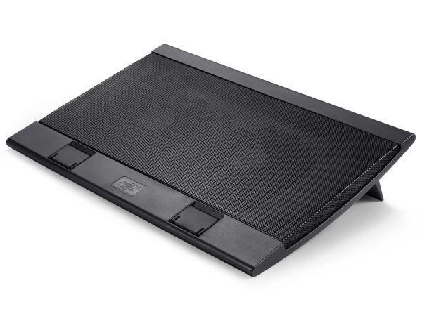 DeepCool WINDPALFS Hladnjak za laptop 15,6/17'' 2xUSB 2x140mm.Fan 700~1200rpm 115CFM 21DB. (postolje)