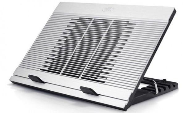 DeepCool N9 Aluminijumski Hladnjak za laptop 15.6'' 180mm.Fan 1000rpm 20dB 380x279x34mm USB HUB