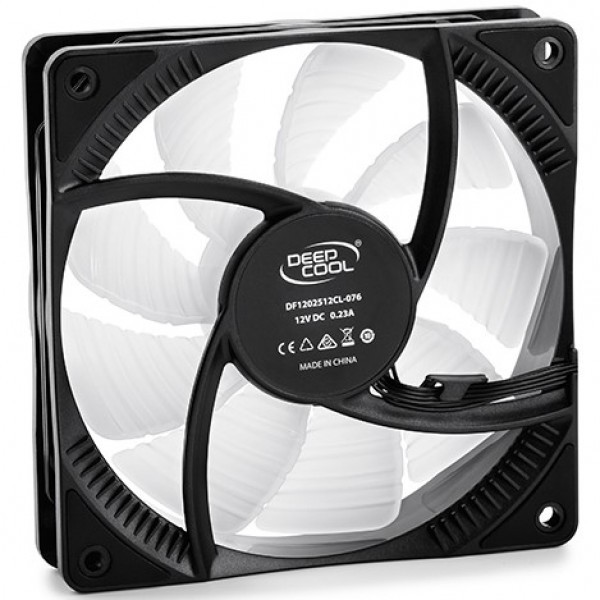 DeepCool CF120 RGB 120x120x25 ventilator Hydro Bearing 500-1500RPM 56CFM 18-27db