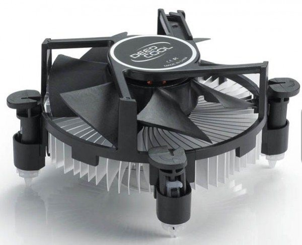 DeepCool CK-11509 Intel CPU kuler 65W 92mm.Fan 2200rpm 38CFM 26dBa LGA115x/LGA1155/LGA775/i3