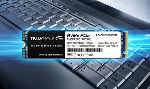 TeamGroup M.2 2280 128GB MP33 SSD PCIe Gen3 x4, NVM Express, 1500/500MB/s TM8FP6128G0C101