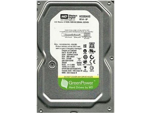 HDD 3.5'' ** 320GB WD3200AVVS WD AV-GP GREEN 5400RPM 8MB SATA