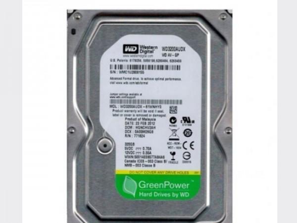 HDD 3.5'' ** 320GB WD3200AUDX WD AV-GP GREEN 7200RPM 32MB SATA3