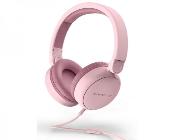 ENERGY SISTEM Style 1 Talk Pure pink slušalice sa mikrofonom
