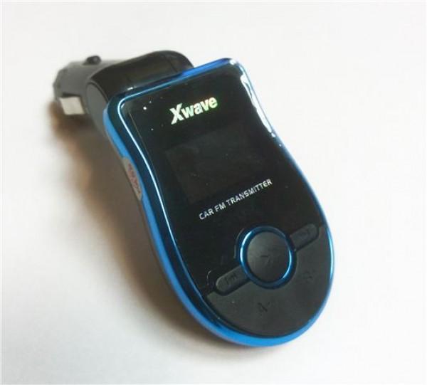 FM transmiter za kola LCD Xwave BT65 blue