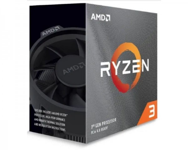 AMD Ryzen 3 3100 4 cores 3.6GHz (3.9GHz) Box