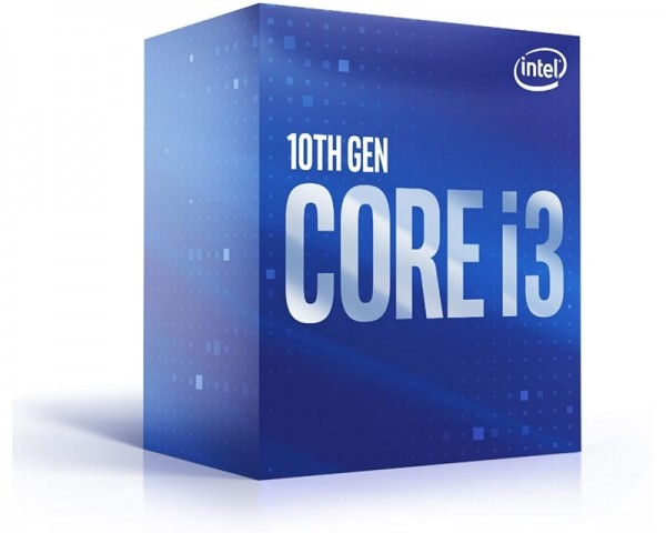 INTEL Core i3-10100 4 cores 3.6GHz (4.3GHz) Box