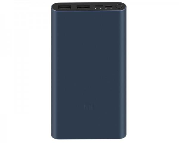 XIAOMI 10000mAh Mi 18W Fast Charge Power Bank 3 crni