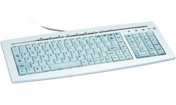 KB-9848L * Gembird tastatura sa pozadinskim osvetljenjem US layout, PS/2 (799)