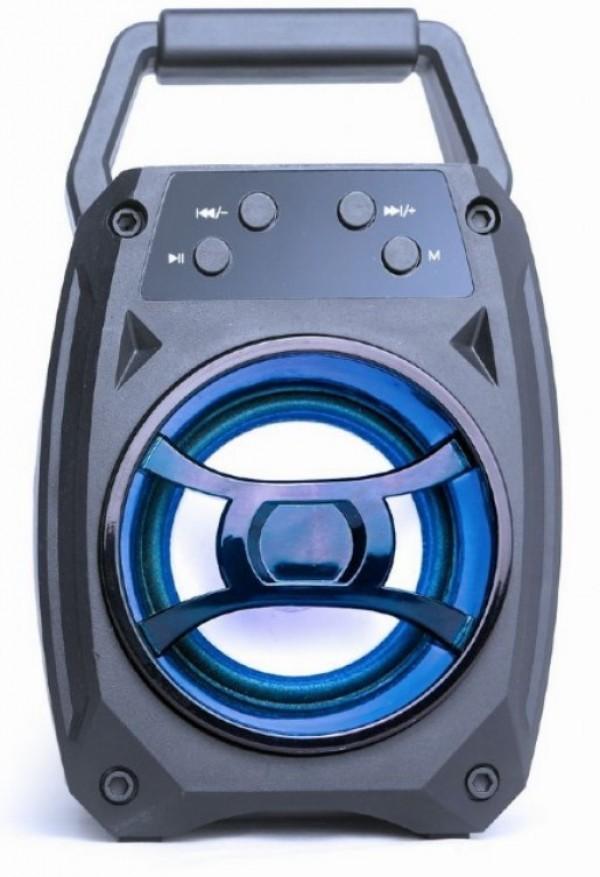 SPK-BT-14  Gembird Portable Bluetooth speaker 5W, USB, SD, 3,5mm, LED black