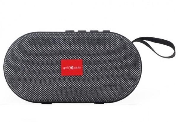 SPK-BT-11-GR Gembird Portable Bluetooth speaker 3W, USB, SD, FM, grey