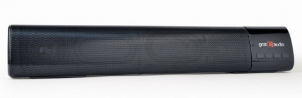 SPK-BT-BAR400-01 Gembird Bluetooth speaker soundbar 2x5W FM, USB, SD, AUX, mikrofon, black