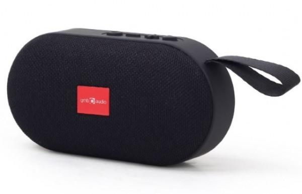 SPK-BT-11 Gembird Portable Bluetooth speaker 3W, USB, SD, FM black