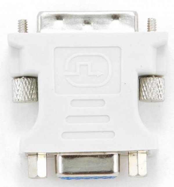 A-DVI-VGA Gembird Adapter DVI-I 24+5-pin male to VGA 15-pin HD (3 rows) female DVI-I