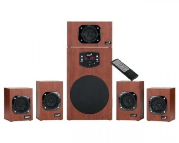 GENIUS SW-HF5.1 4600 wood zvučnici