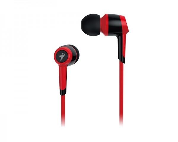 GENIUS HS-M225 crvene slušalice sa mikrofonom