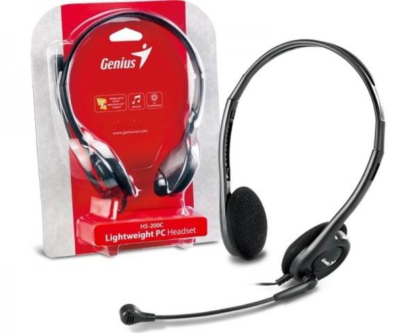 GENIUS HS-200C slušalice sa mikrofonom