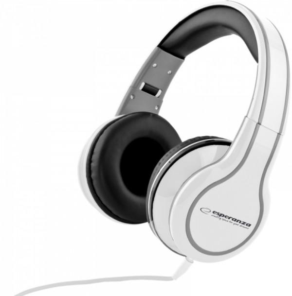 ESPERANZA slušalice LEH136W bele