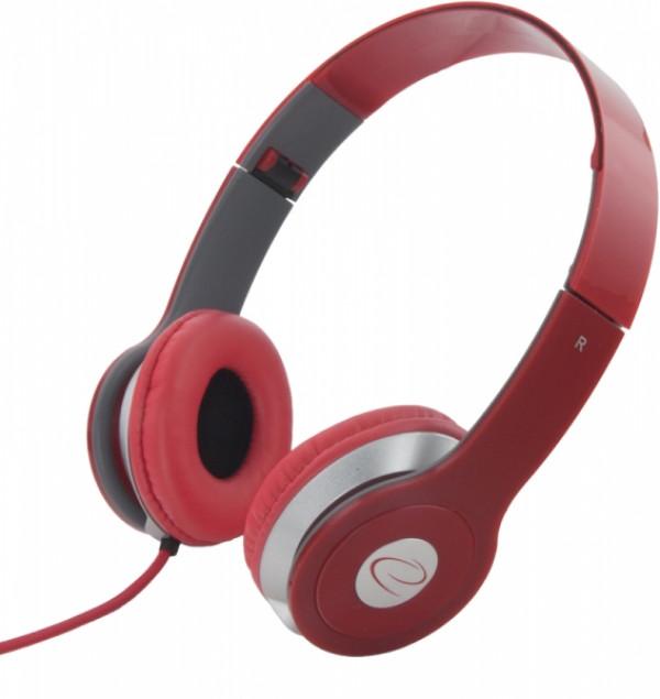 ESPERANZA slušalice LEH145R crvene