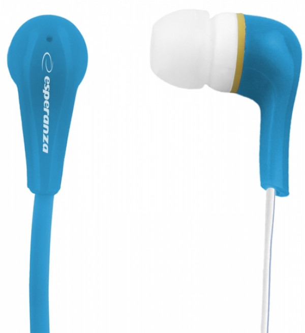 ESPERANZA slušalice bubice LOLLIPOP LEH146B plave
