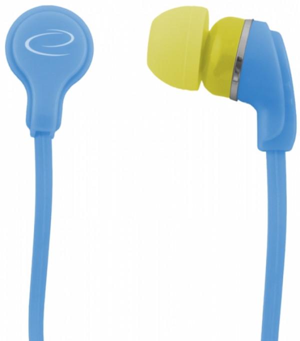 ESPERANZA slušalice bubice NEON LEH147T tirkizno plave
