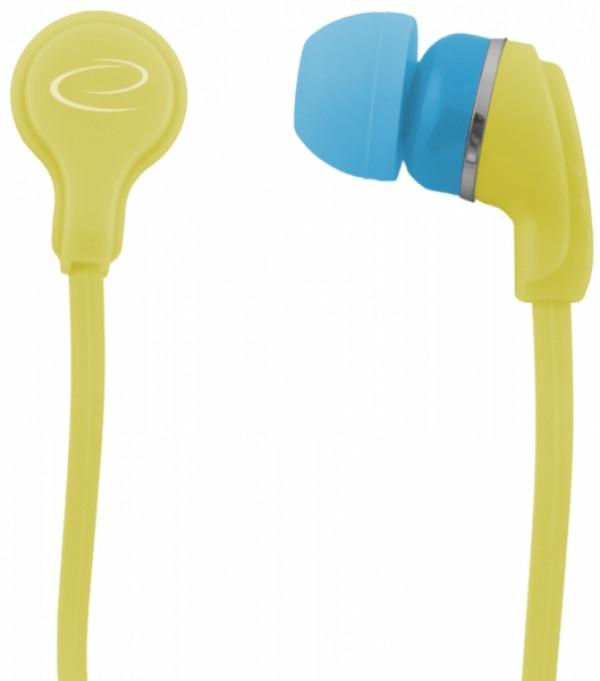 ESPERANZA slušalice bubice NEON LEH147Y žute