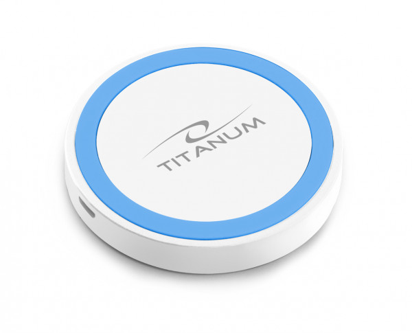 Titanum Bežični punjač za telefon LTZ112WB belo - plavi