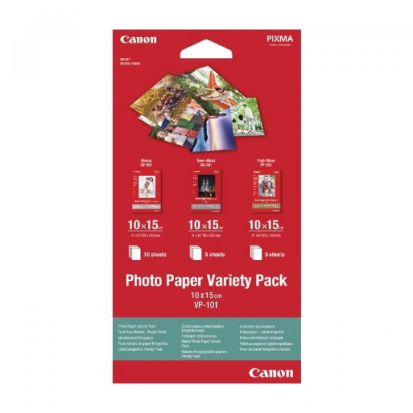 Foto papir Canon Variety Pack VP-101 10x15cm 20Sh