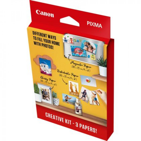 Canon Pixma Creative Kit (MG101 4x6 + RP-101 4x6 + PP201 4x6)