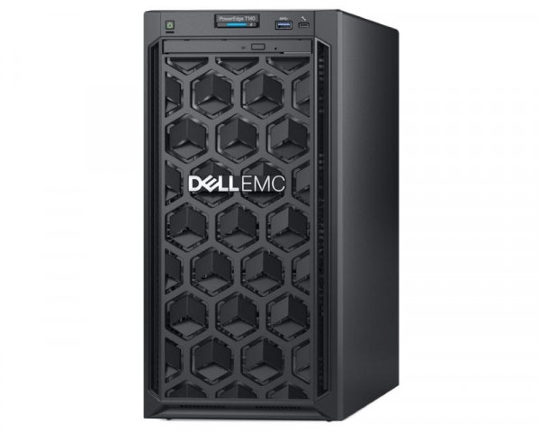 DELL PowerEdge T140 Xeon E-2224 4C 16GB H330 2x1TB SATA DVDRW 365W 3yr NBD