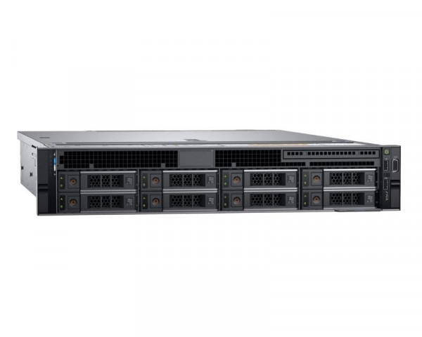 DELL PowerEdge R540 1x Xeon Silver 4210R 10C 2x16GB H730P 2x600GB SAS 750W (1+1) 3yr NBD + šine za rack
