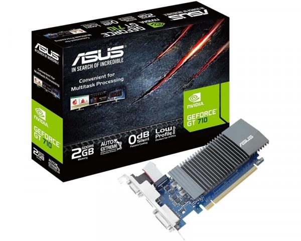 ASUS nVidia GeForce GT 710 2GB 64bit GT710-SL-2GD5