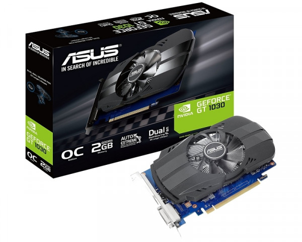 ASUS nVidia GeForce GT 1030 2GB 64bit PH-GT1030-O2G