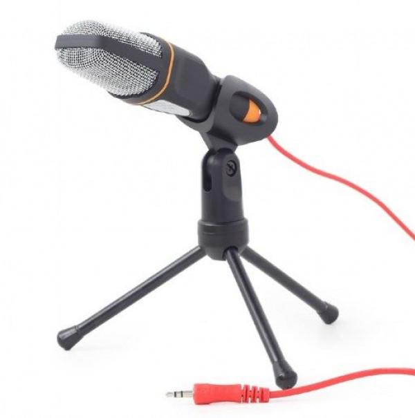 MIC-D-03 Gembird mikrofon sa tripodom 3,5mm black