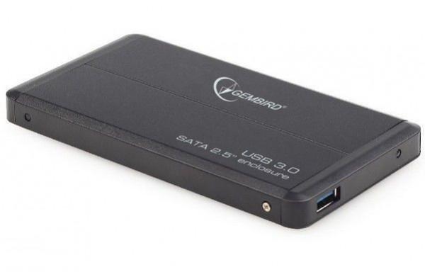 EE2-U3S-2 Gembird USB 3.0 Externo kuciste za 2.5'' SATA hard diskove crni