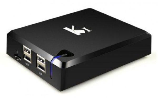 X-GMB-K1 PLUS+S2 Gembird Android smart TV box S805, 1GB RAM/8GB ROM, Mali450 4K 64b, KODI android 5.