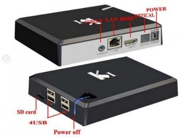 X-GMB-K1 Gembird smart tv box S805 quadcore CPU, 1GB RAM /8GB ROM, GPU Mali450,  KODI Android 4.4.2
