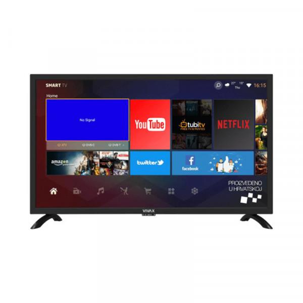 Televizor Vivax 32LE141T2S2SM SMART (Crni)  LED, 32'' (81.2 cm), 720p HD Ready, DVB-T-T2-C-S2