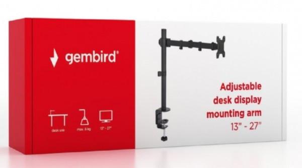 MA-DF1-01 Gembird Podesivi stoni drzac za monitor,tilt, 13-27'' max.8kg