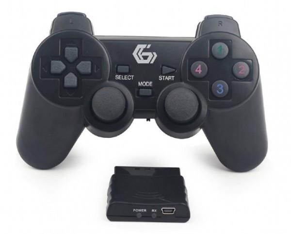JPD-WDV-01 Gembird Beicni gamepad sa dvostrukom vibracijom, PS2 / PS3 / PC