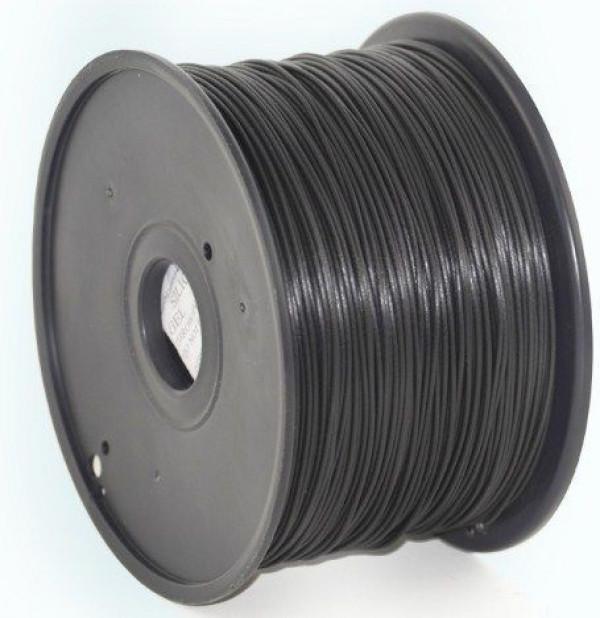 3DP-PLA3-01-BK PLA Filament za 3D stampac 3mm, kotur 1KG BLACK