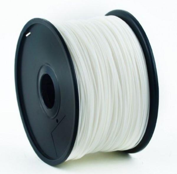 3DP-PLA3-01-W PLA Filament za 3D stampac 3mm, kotur 1KG WHITE