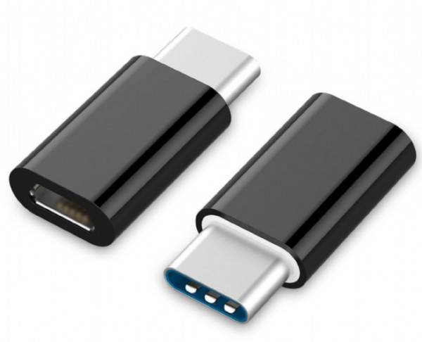 A-USB2-CMmF-01 Gembird USB 2.0 naType-C adapter (CM/MicroUSB-F), black