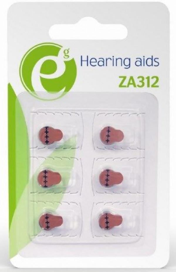 EG-BA-ZA312-01 ENERGENIE ZA312 zinc-air button cell PAK6